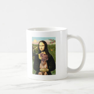 RhodesianRidgeback 1 - Mona Lisa Basic White Mug