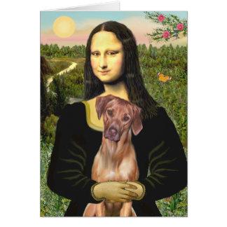 RhodesianRidgeback 1 - Mona Lisa Card