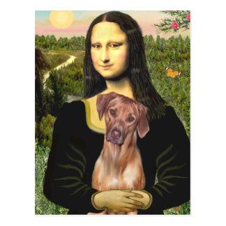 RhodesianRidgeback 1 - Mona Lisa Postcard