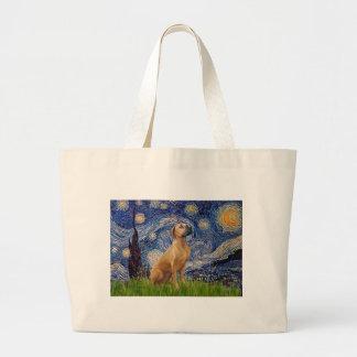 RhodesianRidgeback 2 - Starry Night Canvas Bag