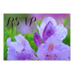 Rhododendron After Rain Wedding Engagement RSVP 9 Cm X 13 Cm Invitation Card