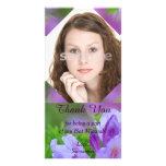 Rhododendron After the Rain Bat Mitzvah Thank You Personalised Photo Card