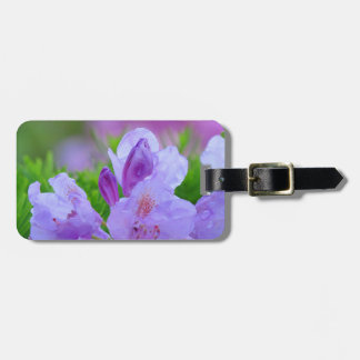Rhododendron After the Rain Personalized Tags For Bags