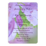 Rhododendron After the Rain Wedding 13 Cm X 18 Cm Invitation Card