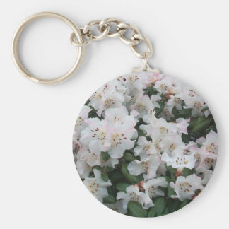 Rhododendron Basic Round Button Key Ring