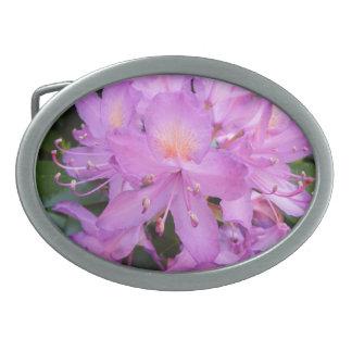 Rhododendron Flower Belt Buckle