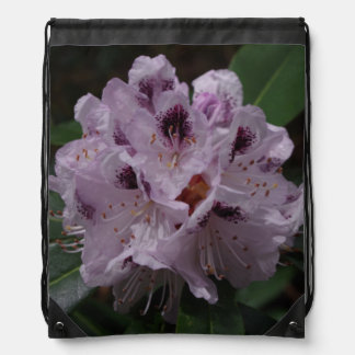 Rhododendron Flower Drawstring Backpack