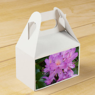 Rhododendron Flower Favour Box