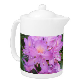 Rhododendron Flower Teapot
