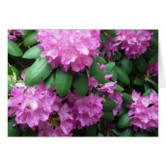 Rhododendron Garden Card