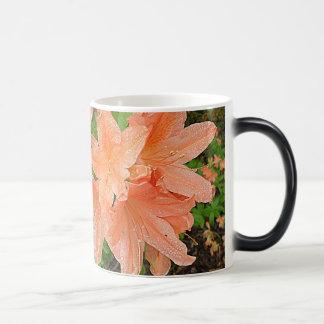 Rhododendron Morphing Mug