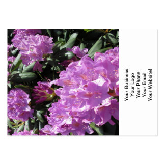 Rhododendron Purple Green Pack Of Chubby Business Cards