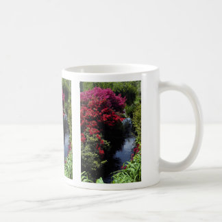 Rhododendrons and stream mug
