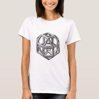 Rhombicuboctahedron, Leonardo Da Vinci T-Shirt