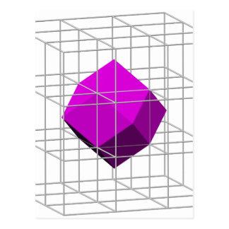 Rhombidodecahedron Postcard