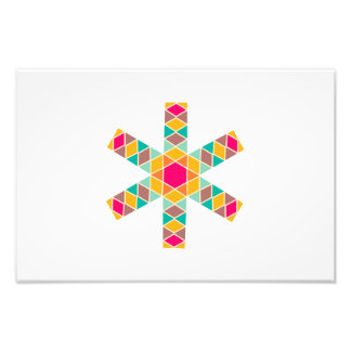Rhombus star photograph
