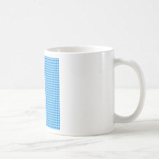 Rhombuses - Blizzard Blue and Azure Coffee Mug