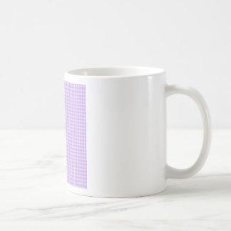 Rhombuses - Wisteria and Pale Lavender Coffee Mugs
