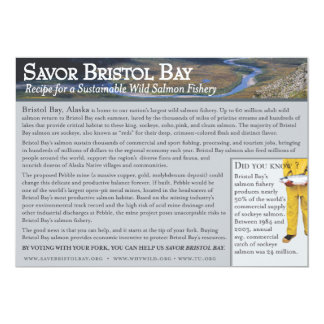 Rhonda's Bristol Bay Salmon Card