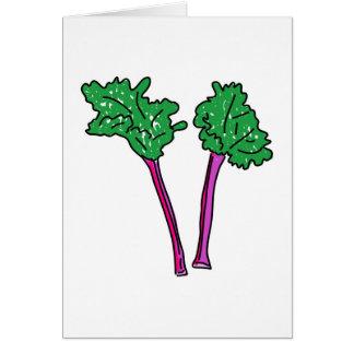 Rhubarb Card