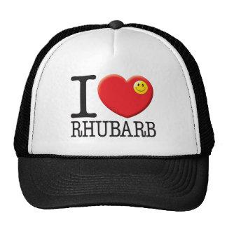 Rhubarb Mesh Hat