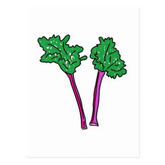 Rhubarb Post Card