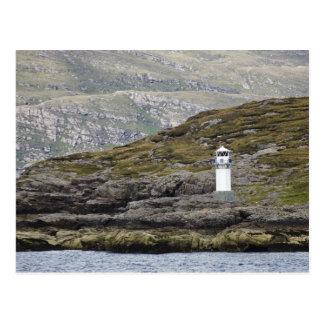Rhue Lighthouse Along The Coast Postcard