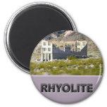 Rhyolite Nevada 6 Cm Round Magnet