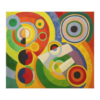 Rhythm Joie de vivre by Robert Delaunay 1930 Canvas Print