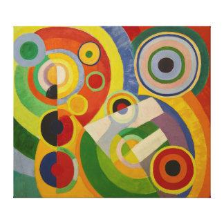 Rhythm Joie de vivre by Robert Delaunay 1930 Canvas Prints