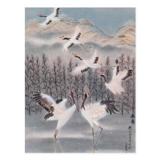 Rhythm of Winter Postcard