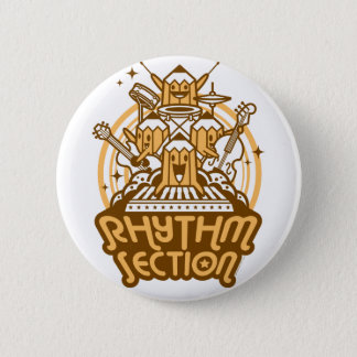 Rhythm-Section 6 Cm Round Badge