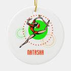 Rhythmic Gymnast Personalised Ornament