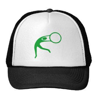 Rhythmic Gymnastic Figure - Grass Green Cap