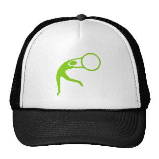 Rhythmic Gymnastic Figure - Martian Green Cap