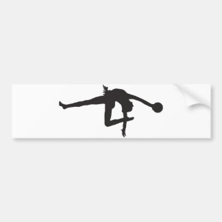 Rhythmic Gymnastics Bumper Sticker