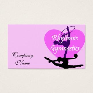 Rhythmic Gymnastics Business Card