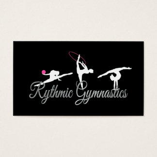 Rhythmic Gymnastics business cards