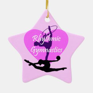 Rhythmic Gymnastics Christmas Ornament