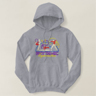 Rhythmic Gymnastics Embroidered Hoodie