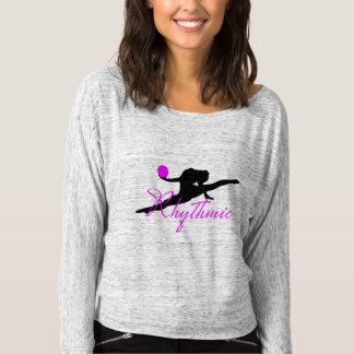Rhythmic Gymnastics Off the Shoulder Shirt