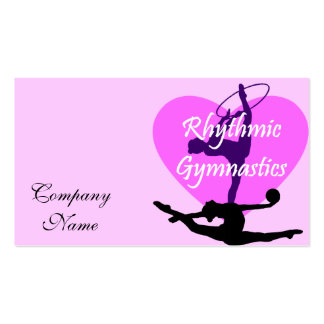 Rhythmic Gymnastics Pack Of Standard Business Cards