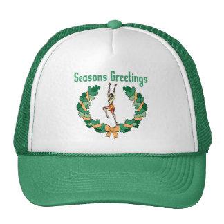 Rhythmic Gymnastics Seasons Greetings Cap