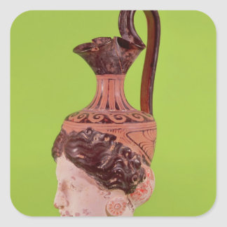 Rhyton in the form of a female head stickers