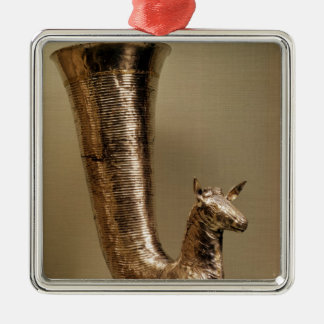 Rhyton in the form of an ibex, from Iran Christmas Ornament