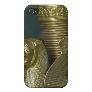 Rhyton in the shape of a seated lion-monster case for iPhone 4