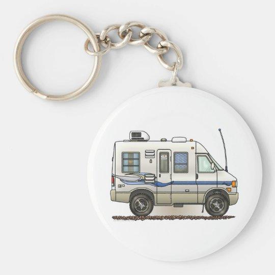 Rialta Winnebago Camper RV Basic Round Button Key Ring