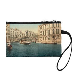 Rialto Bridge and Grand Canal, Venice, Italy Coin Purse