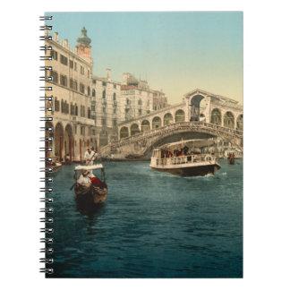 Rialto Bridge and Grand Canal, Venice Notebooks