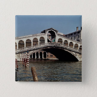 Rialto Bridge, begun 1588 15 Cm Square Badge